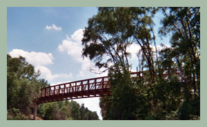 Prairie Path Bridge